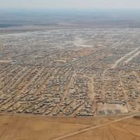 vluchtelingenkamp in Jordanië